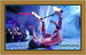 Шоу программа:огненное шоу Одесса