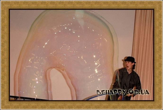 Шоу программа:Шоу мыльных пузырей Одесса