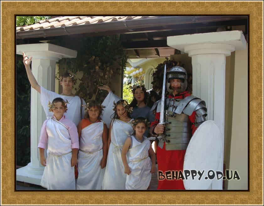 детские праздники Одесса рыцарь на день рождения