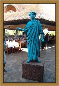 Живая скульптура в Одессе заказать