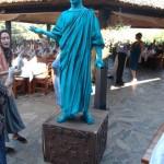 Живая статуя Одесса Дюк