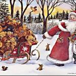 Дед Мороз на утреник, откуда взялся Дед Мороз