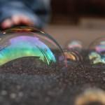 Гигантские мыльные пузыри- шоу мыльных пузырей