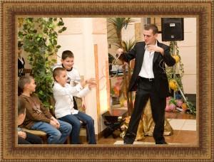 Фокусник на детский праздник в Одессе