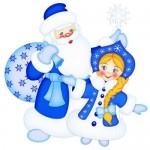 Дед Мороз на утреник, откуда взялся Дед Мороз 3