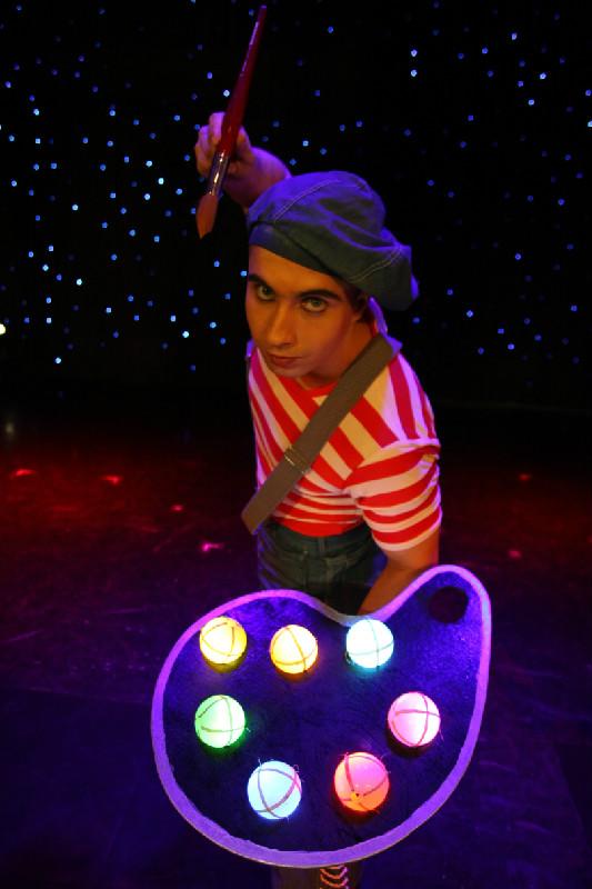 Жонглер в Одессе на праздник