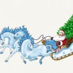 Дед Мороз на утреник, откуда взялся Дед Мороз 2