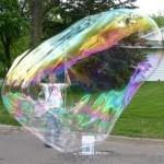 Гигантские мыльные пузыри-как сделать шоу мыльных пузырей 4