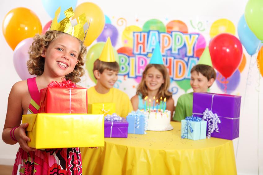 На день рождение подарки ребенку