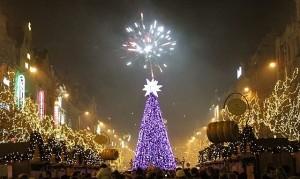 Встреча Нового года в Одессе