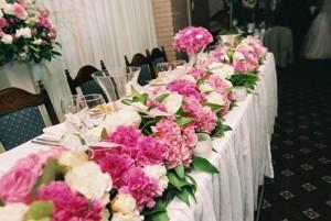 Выбор цветов к свадебному торжеству