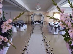 Украшения для свадебного приема