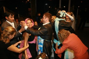 Проведение нестандартного выкупа невесты в Одессе