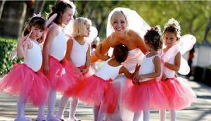 Дети на свадьбе в Одессе