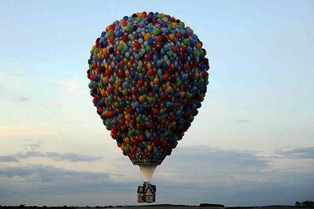Оформление праздников в Одессе воздушными шарами