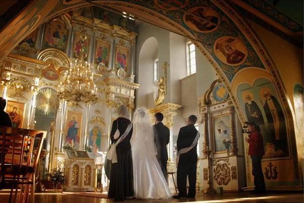 Церемония венчания в Одессе