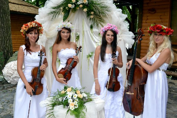 Музыкальное сопровождение свадебного торжества в Одессе