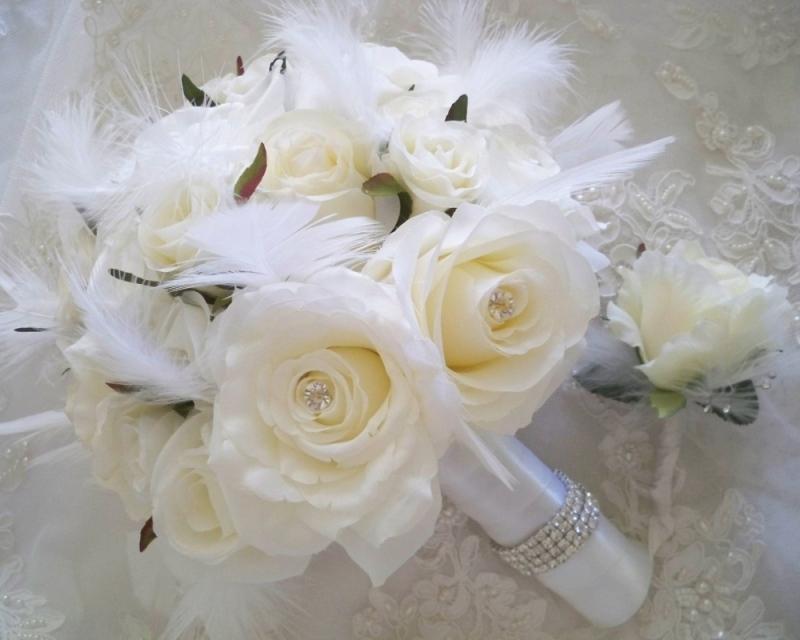 Зимние букеты невесты в Одессе