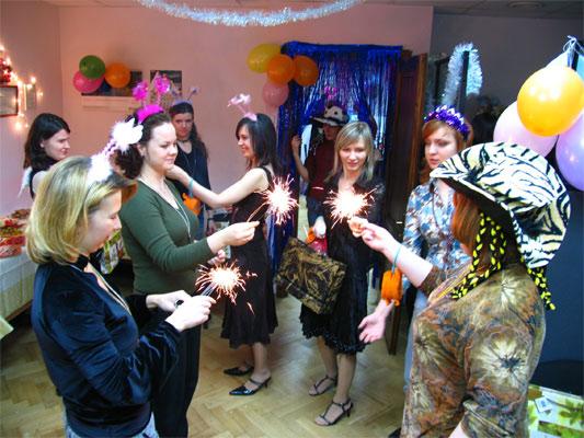 Новогодние праздники в Одессе