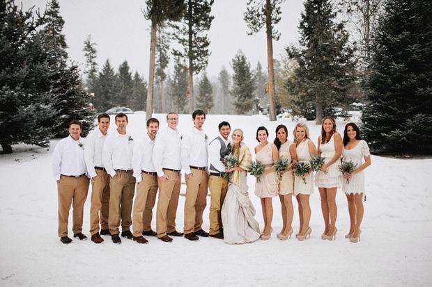 Зимняя свадьбы в Одессе