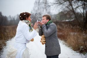 Развлечения на зимней свадьбе в Одессе