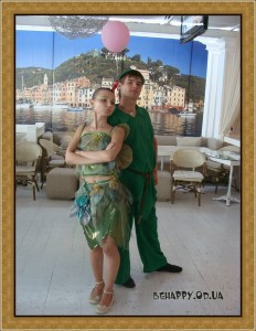 Детский день рождения Одесса Питер Пэн на празднике