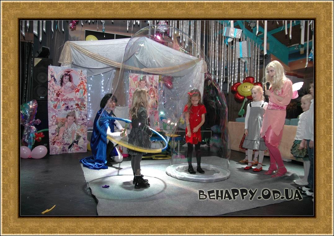 Шоу программа:Шоу мыльных пузырей в Одессе на праздник