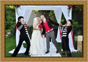 Мим на свадьбу в Одессе