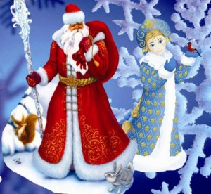 Дед мороз на утренник и Новый год