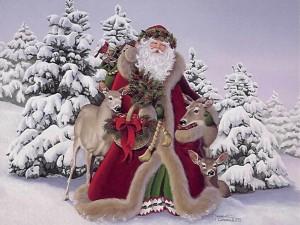 Дед Мороз и Снегурочка в Одессе