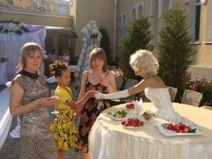 Встреча гостей в Одессе