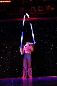 Одесский жонглер на праздник