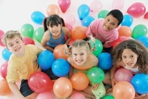 Детский праздник - игры и забавы