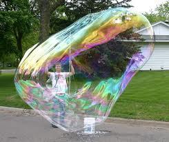 Лучшее шоу мыльных пузырей в Одессе