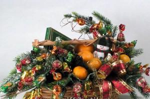 Новогодний букет на праздник в Одессе