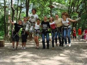 Образование команды в Одессе с помощью тимбилдинга