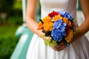 Украшение свадьбы в Одессе цветами
