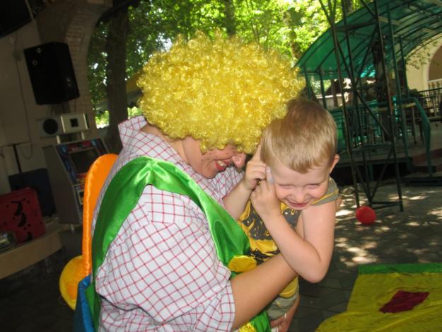Клоуны на детский день рождения в Одессе