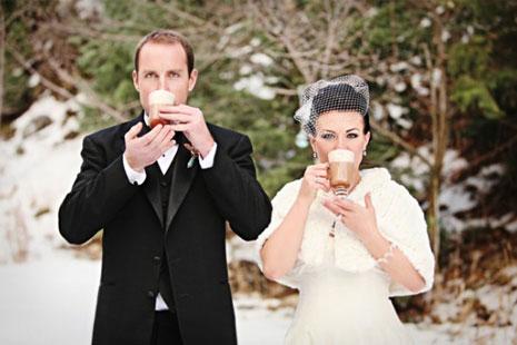 Зимняя свадьба в Одессе