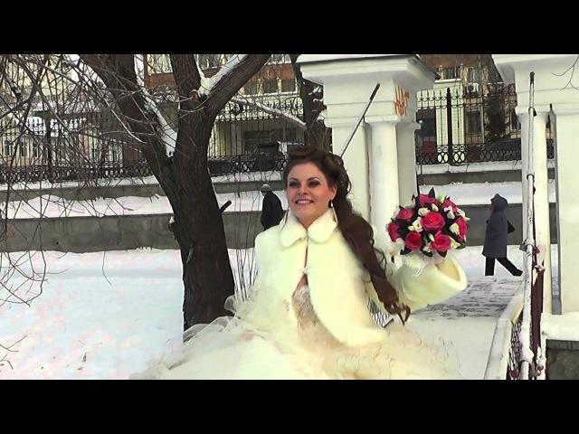 Видеосъемка зимней свадьбы в Одессе